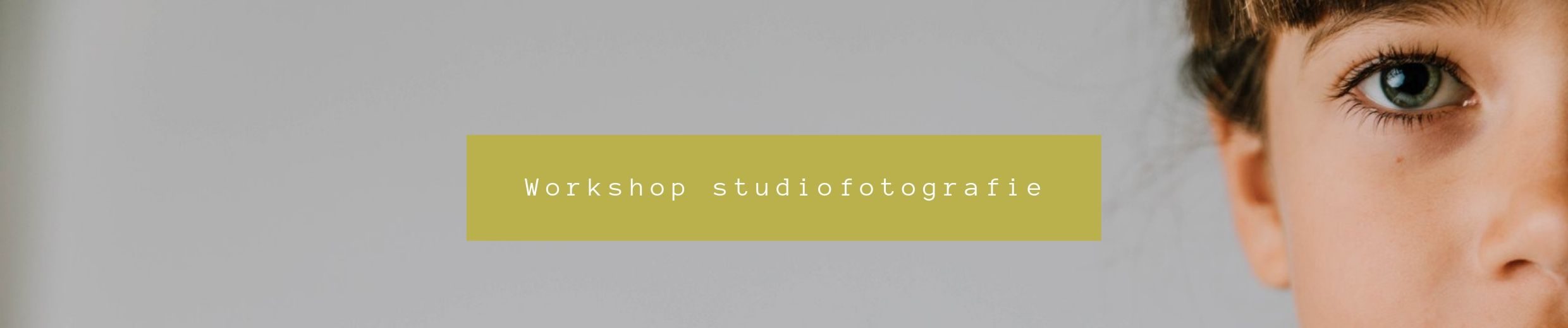 workshop studio fotografie