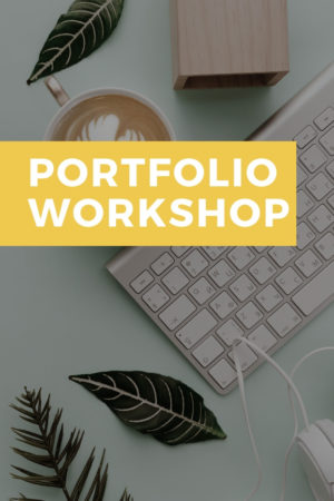portfolio workshop kim de. graeve workshops